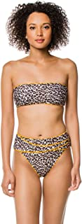 Women's Jungle Kat Reversible Bandeau Bikini Top