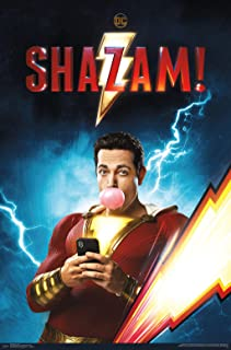 Trends International DC Comics Movie - Shazam - Chill Wall Poster, 22.375