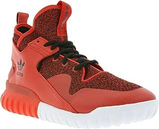 Originals Tubular X Mens Hi Top Trainers Sneakers Shoes (UK 9.5 US 10 EU 44, Red Red Black S74929)