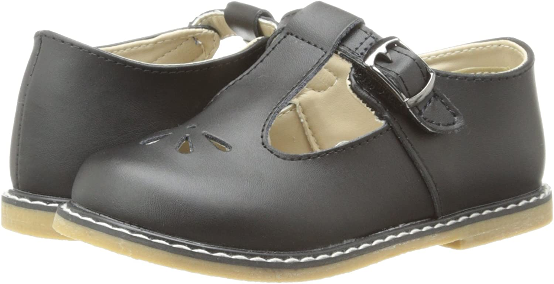 Baby Deer Stichout TS T-Strap Sandal (Infant/Toddler/Little Kid)