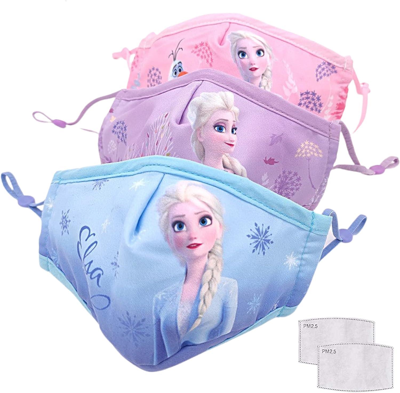 GUSTO Mascarilla Protectora Lavable y Reutilizable para Niños (Frozen)