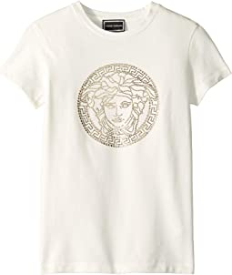 Medusa Strass Logo Tee (Big Kids)