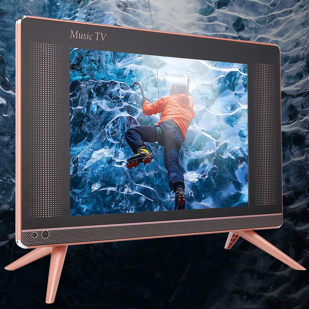 Naroote Mini Television,Mini televisión portátil DVB-T2 HD LCD TV Mini televisor portátil Sonido bajo 110-240V 17 Pulgadas(UE): Amazon.es: Electrónica