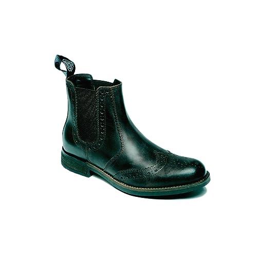 5cf7da2b245a9 Casual Boots Men's Black: Amazon.co.uk