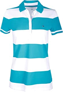 Tommy Hilfiger Women's Striped Polo Pique