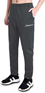 GEMUNTO Men's Sweatpant with Zipper Pocket Running Casual Pants for Jogging,Workout,Gym, Running,Training