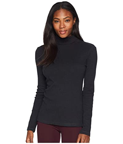 Royal Robbins Kickback Turtleneck (Jet Black Heather) Women