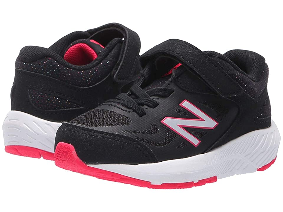 New Balance Kids KV519v1I (Infant/Toddler) (Black/Rainbow) Girls Shoes