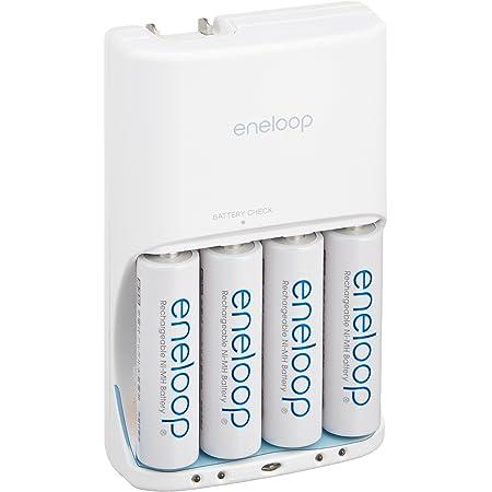SANYO NEW eneloop 電池残量表示機能付き急速充電器(単3形4個セット) N-TGR03AS