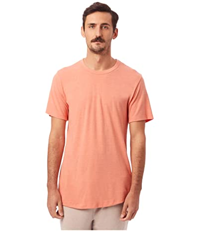 Alternative Eco Shirttail Tee (Eco Sunset Coral) Men