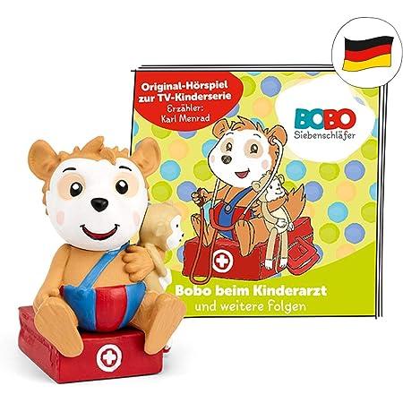 tonies 01-0167 - Figuras de audición para Caja Toniebox: Bobo en el pediatra + 7 consecuencias adicionales, Aprox. 46 Minutos de autonomía, a Partir de 3 años, en alemán
