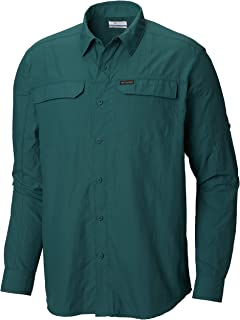 Columbia Men's Silver Ridge 2.0 Long Sleeve Shirt, UV Sun Protection, Moisture Wicking Fabric