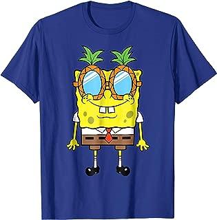Spongebob Squarepants Pineapple Glasses T-Shirt