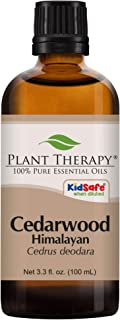 Plant Therapy Cedarwood Himalayan Essential Oil 100 mL (3.3 oz) 100% Pure, Undiluted, Therapeutic Grade
