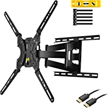 "$41 » FORGING MOUNT Full Motion TV Wall Mount Bracket Dual Articulating Arms for Most 37-70 inch LED,LCD,OLED,Plasma Screen TVs up to 132LBS VESA 600X400mm-16.5"" Extension FM9380-B"