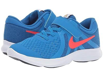 Nike Kids Revolution (Little Kid) (Photo Blue/Battle Blue/Bright Crimson) Boys Shoes
