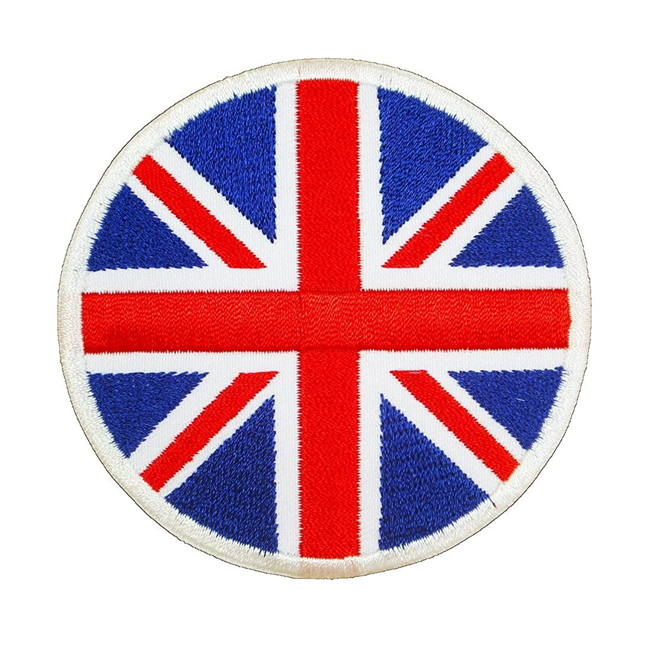 British Union Jack Badge Embroidered Iron on Patches