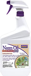 Bonide (BND022) – Ready to Use Neem Oil, Insect Pesticide for Organic Gardening (32 oz.)