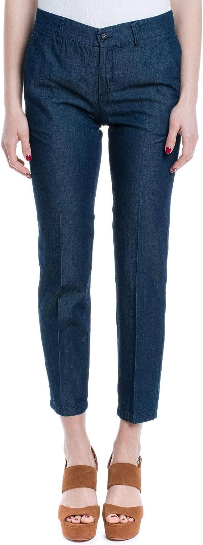 ALTEA Women's 195350310 blueee Cotton Pants