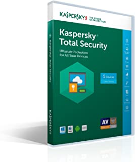 Kaspersky Lab 2017 Total Security 5 Device/1 Year (Key Card)