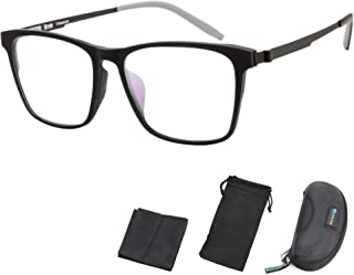 Optical Eyewear Glasses Frame TR90 Ultralight Square Non...