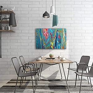 دقائق اكسبريس لوحه فنيه جداريه لديكور المنزل 40X60 سم