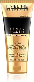 Eveline Professional Luxury Hands and Nails Cream-Serum Argan and Vanilla,  100ml