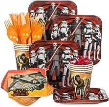 Costume SuperCenter Star Wars Rebels Birthday Party Supplies Standard Tableware Kit Serves 8