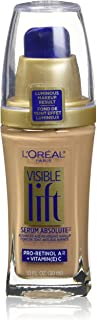 L'Oreal Paris Visible Lift Serum Absolute Foundation, Buff Beige, 1 Ounce