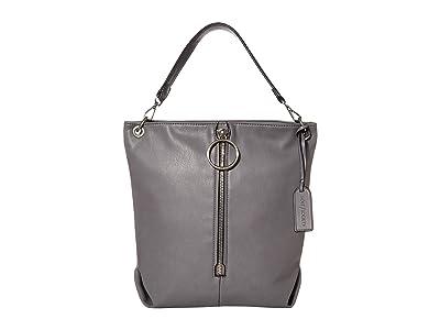 SOLE / SOCIETY Dayne Hobo (Charcoal) Handbags