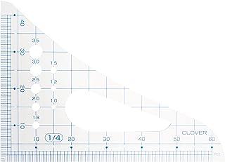 Clover 方眼三角縮尺1/4 25-015