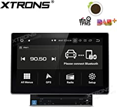 XTRONS 10.1 Inch Double Din Android 8.1 Universal Car Stereo Radio Player HD Digital Multi-Touch Screen Bluetooth Head Unit Car Radio Multimedia Player Supports WiFi GPS OBD 1080P Video USB SD