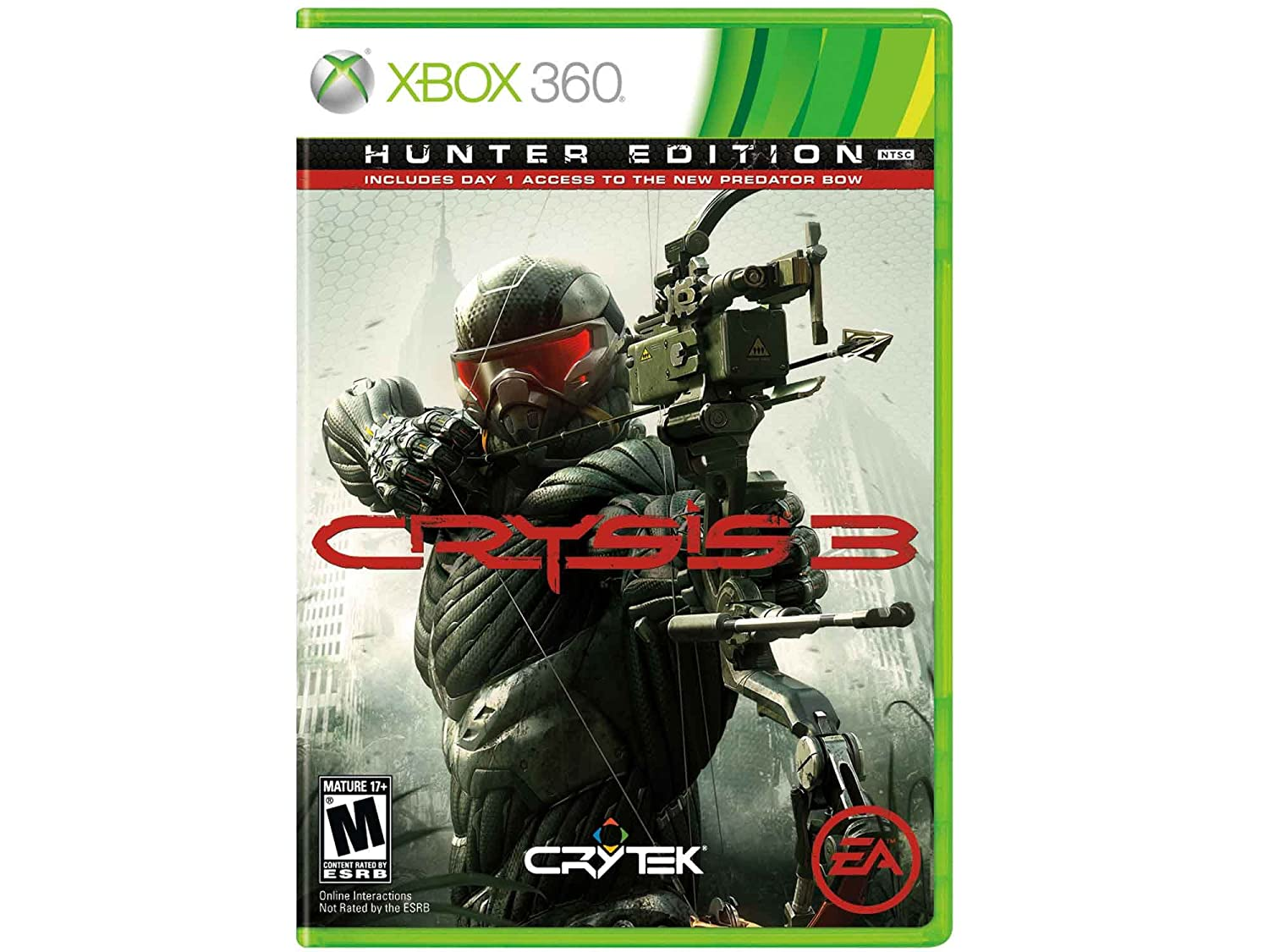 Crysis 3 - Super special price Safety and trust Xbox 360