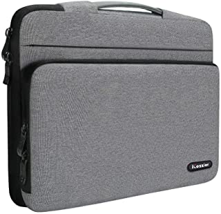 """iCozzier 13-13.3 Inch Large Capacity Side Pocket Laptop Sleeve Case Protective Storage Bag for 13"""" MacBook Air/MacBook Pro..."""