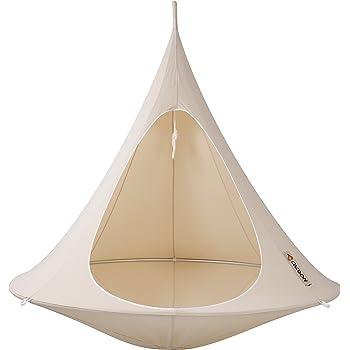 CACOON(カクーン) テント型ハンモック ナチュラルホワイト ファミリーサイズ (~200kg) DW1 [並行輸入品]