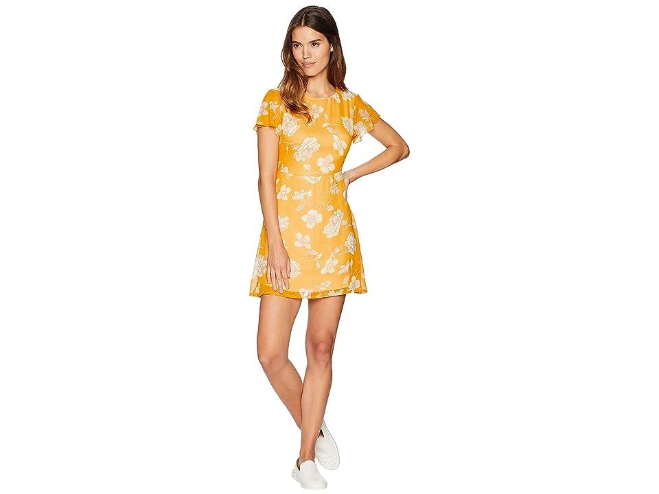 Volcom Tropickle Dress (Mustard) Women