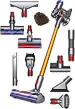 Dyson V8 Absolute Cord-Free Stick Vacuum Cleaner, Cordless Bagless HEPA Filter (Complete Set) w/Bonus: Premium Microfiber Cleaner Bundle