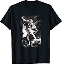 Saint St Michael Catholic Archangel Defender T-Shirt