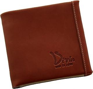 Divin メンズ レディース ユニセックス ラウンド 二つ折り財布 小銭入れ グローブ用レザー使用【DV-014】