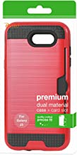 Reiko Cell Phone Case for Samsung Galaxy J3 Emerge - Red