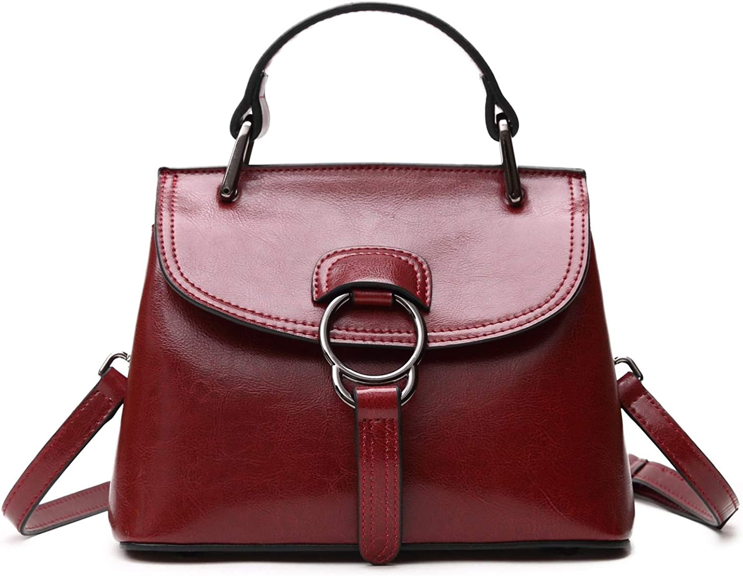 HYF Women Purses and Handbags for Women Fashion Shoulder Tote Bags Purse (color   Red, Size   Onesize)