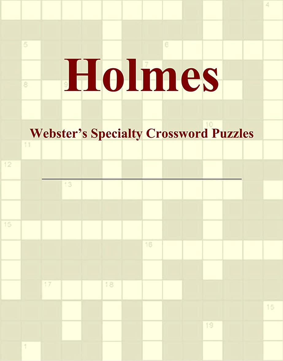 ジュース遅滞電圧Holmes - Webster's Specialty Crossword Puzzles