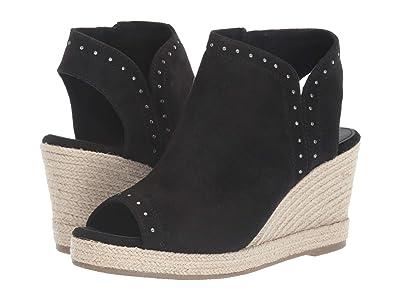 SKECHERS Indigo Sky Studded Open Toe Bootie (Black) Women