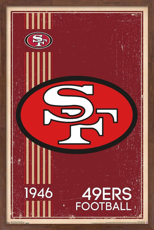 Trends Japan's largest assortment International NFL San Francisco 49ers Logo Wal 14 Excellence - Retro