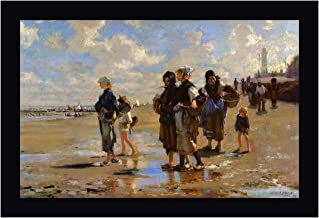 The Oyster Gatherers of Cancale by John Singer Sargent 14