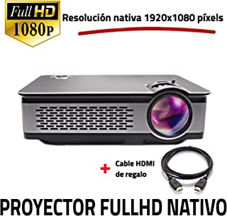Full HD 1080P native Projektor, UNICVIEW FHD900 Beamer Neu 2019, Maximale Helligkeit Projektoren Tragbare LED Heimkino 1920x1080 Real, HDMI, USB, kompatibles PS4, XBOX, Switch, FullHd Auflösung