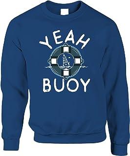 Tim And Ted Sailing Jumper Yeah Buoy Nautical Joke Pun Sweatshirt Sweater