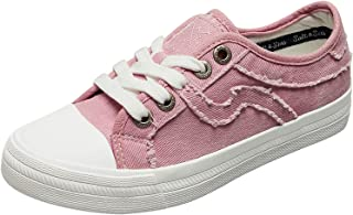 SALT&SEAS Women Adults Canvas Fashion Sneakers Low Top Lace Up Lightweight Casual Shoes