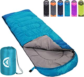 SWTMERRY Sleeping Bag 3 Season (Summer, Spring, Fall) Warm & Cool Weather - Lightweight,Waterproof Indoor & Outdoor Use fo...