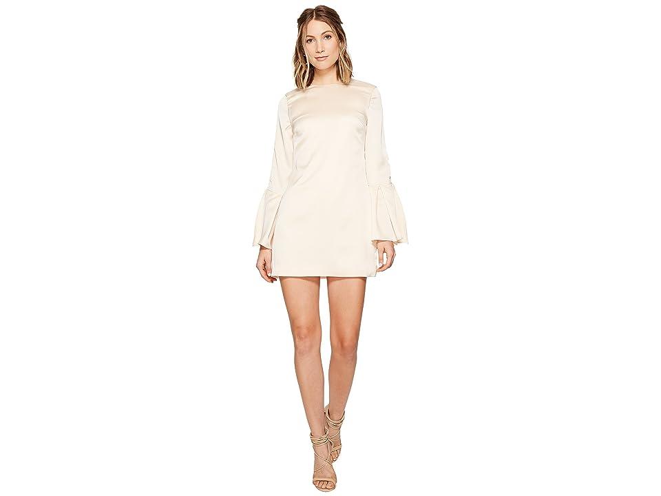 KEEPSAKE THE LABEL Chandelier Long Sleeve Mini Dress (Nude) Women